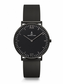 Kapten & Son Campina Midnight Mesh (black)