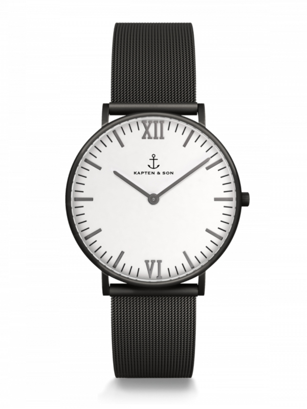 Kapten & Son Campina Midnight Mesh (white)