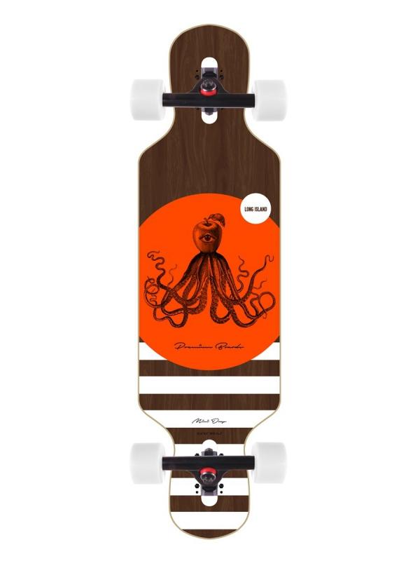 "Long Island Davy 32"" Mini Drop Through Komplett Longboard"