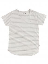 Cleptomanicx Harbour T-Shirt (heather creme)