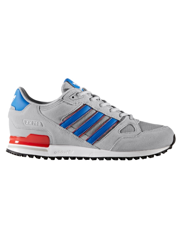 Adidas ZX 750 (grey two/blue/core red)