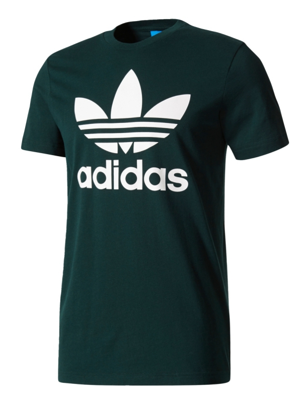 Adidas Original Trefoil T-Shirt (green night)