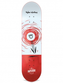Inpeddo Higher Vibrations Deck 8.25 Inch (red)