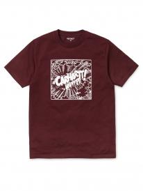 Carhartt Comic T-Shirt (amarone/white)