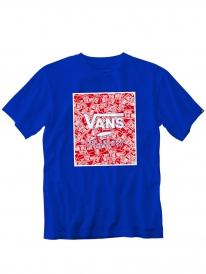 Vans Print Box T-Shirt (royal/otw)