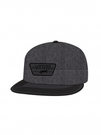 Vans Full Patch Cap (asphalt/black)