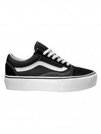 Vans Old Skool Platform (black/white)