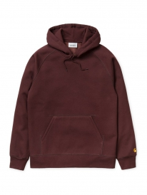Carhartt Chase Hoodie (damson/gold)