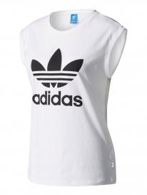 Adidas Boyfriend Trefoil T-Shirt (white)
