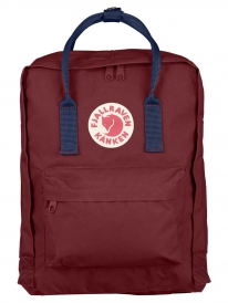 Fjällräven Kanken Rucksack (ox red/royal blue)