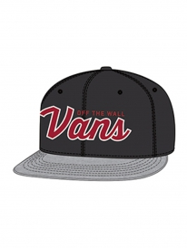 Vans Wilmington Cap (black/heather grey)