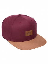 Reell Suede Cap (maroon)