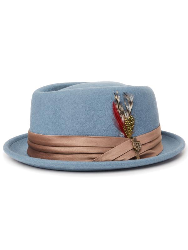 Brixton Stout Hat (blue haze)