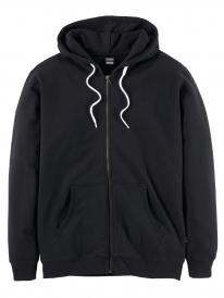 Cleptomanicx Ligull 2 Zip Hoodie (black)