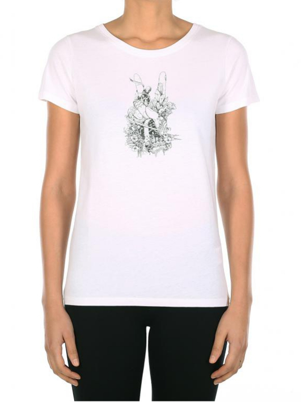 Iriedaily Easypeacy T-Shirt (white)