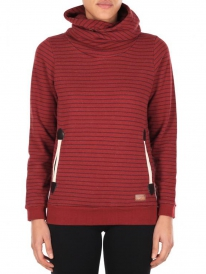 Iriedaily Cushy Turtle Hoodie (red wine)