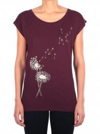 Iriedaily Pusteblume T-Shirt (wine)