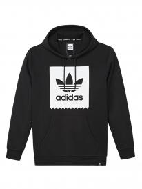 Adidas Solid Blackbird Hoodie (black/white)