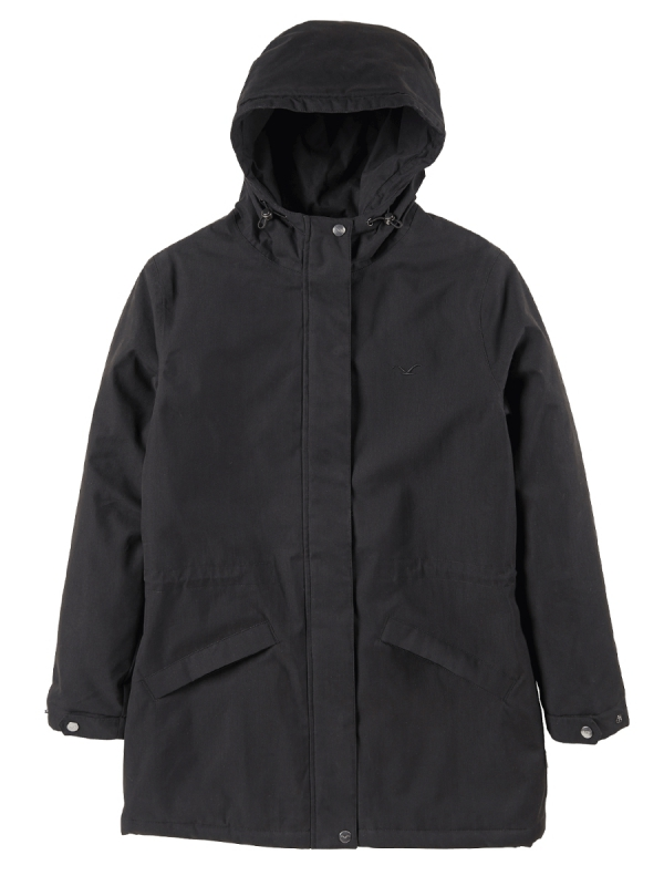 Cleptomanicx Greta Winter Jacke (black)