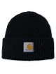 Carhartt Anglistic Beanie (black heather)