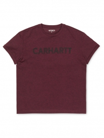 Carhartt Holbrook Freehand T-Shirt (amarone heather/black)