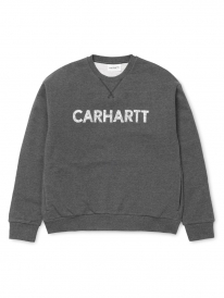 Carhartt Holbrook Freehand Sweater (black heather/white)