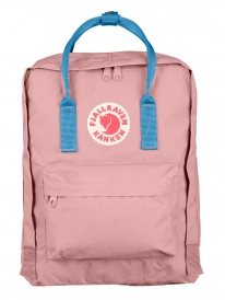 Fjällräven Kanken Rucksack (pink/air blue)