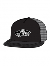 Vans Classic Patch Kids Trucker Cap (black/black)
