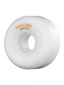 Mini Logo A-Cut Rollen 58mm 90a (white) 4er Satz