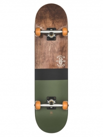 Globe Half Dip 2 Komplett Skateboard 8.0 Inch (dark maple/hunter green)