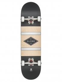 Globe Diablo 2 Komplett Skateboard 8.0 Inch (black/silver)