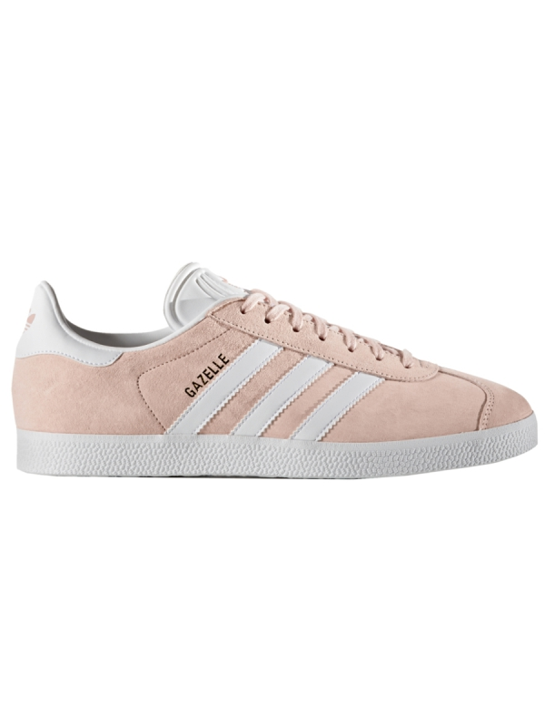 Adidas Gazelle (vapour pink/white/gold metallic)