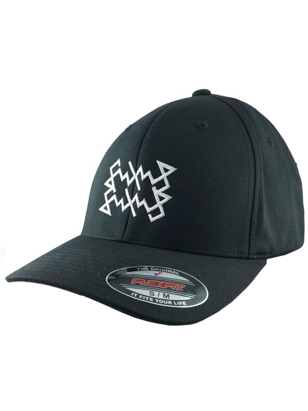 Schichtwechsel Scribble Logo Flex Cap (black)