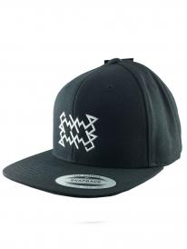 Schichtwechsel Scribble Logo Snapback Cap (black)