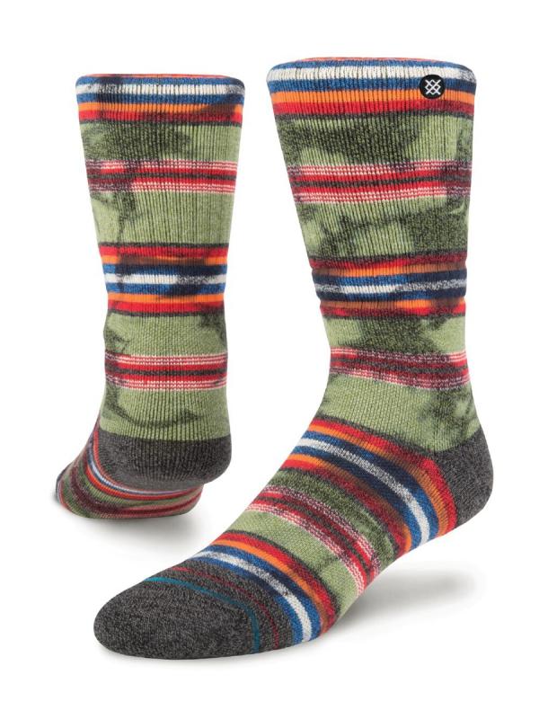 Stance Palisade Socken (olive)