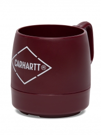 Carhartt x Dinex Stockable Insulated Plastic Mug Tasse (cranberry)