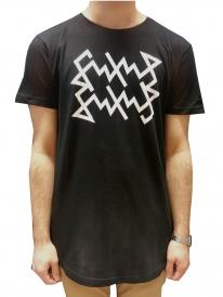 Schichtwechsel Scribble Long T-Shirt (black)