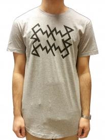 Schichtwechsel Scribble Long T-Shirt (heather grey)