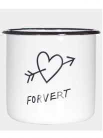 Forvert Hungry Hearts Tasse (white)