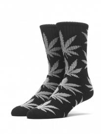 Huf Glow in the Dark Plantlife Crew Socken (black)