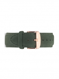 Kapten & Son Suede Leather Strap Pine Green (grün)