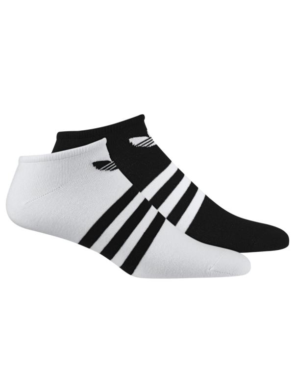 Adidas Trefoil Liner Socken 2 Paar (black/white)