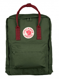 Fjällräven Kanken Rucksack (forest green/ox red)