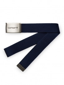 Carhartt Clip Chrome Gürtel (dark navy)