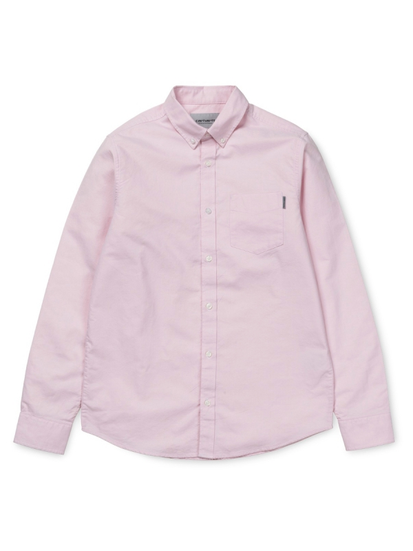 Carhartt Button Down Pocket Hemd (sandy rose)