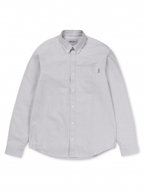 Carhartt Button Down Pocket Hemd (dust)