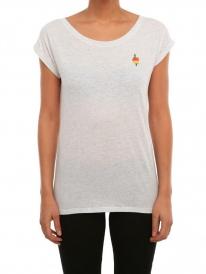 Iriedaily Flutschy T-Shirt (white melange)