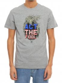 Iriedaily Act The Fool T-Shirt (grey melange)
