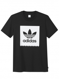 Adidas Solid Blackbird T-Shirt (black/white)
