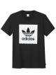 Adidas Solid Blackbird T-Shirt (black/white)